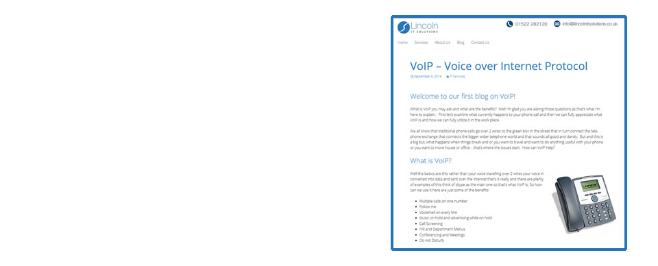 VoIP Blog - More Information